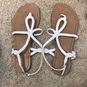 Gently used sandals